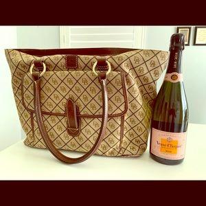 Dooney & Bourke Signature Large Tote Handbag